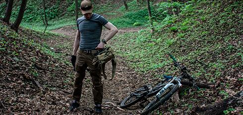 LOOKBOOK: Велоодежда в стиле милитари